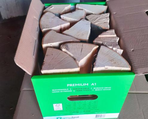 Buchenholz Greenheat Premium